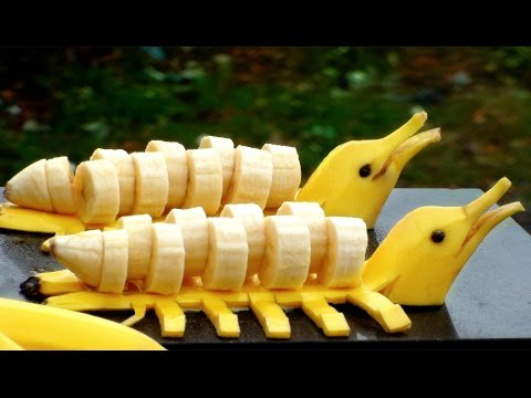 How to Make Banana Decoration