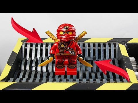 Experiment Shredding Lego Ninjago Kai