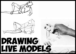 How to Draw Quick Sketches of Live Human Models